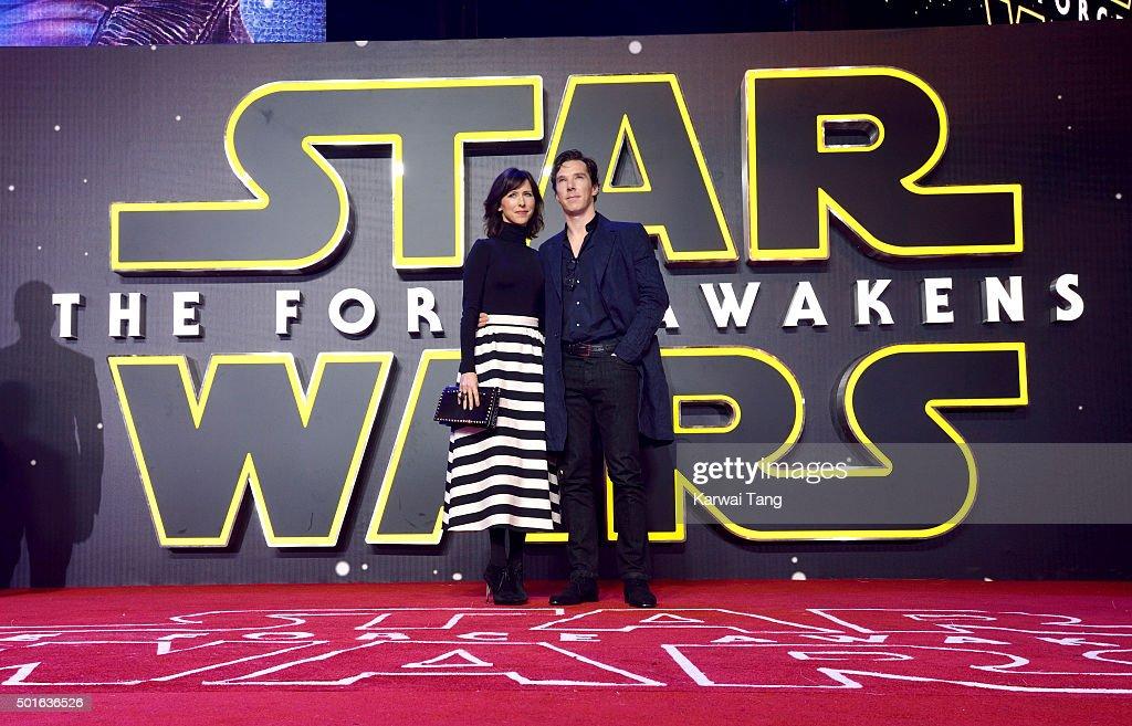 'Star Wars: The Force Awakens' - European Film Premiere - Red Carpet Arrivals : News Photo