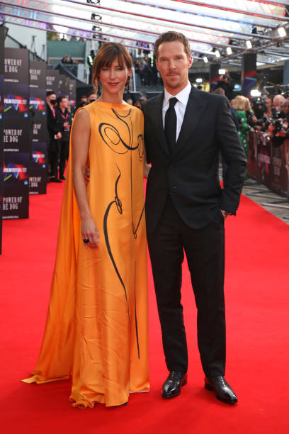 """GBR: """"The Power Of The Dog"""" UK Premiere - 65th BFI London Film Festival"""