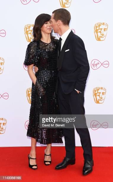 Sophie Hunter and Benedict Cumberbatch attend the Virgin Media British Academy Television Awards at The Royal Festival Hall on May 12 2019 in London...