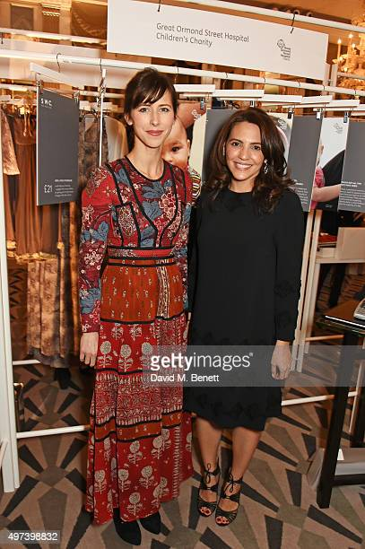 Sophie Hunter and Sayoko Teitelbaum attend 'Shop Wear Care' a onenight only shopping event in aid of Great Ormond Street Hospital Children's Charity...