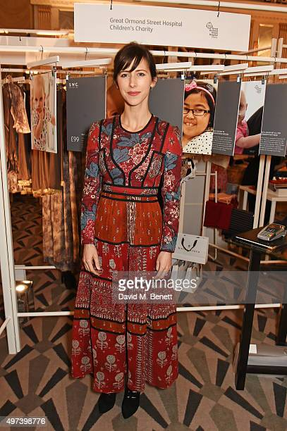 Sophie Hunter attends 'Shop Wear Care' a onenight only shopping event in aid of Great Ormond Street Hospital Children's Charity at Claridge's Hotel...
