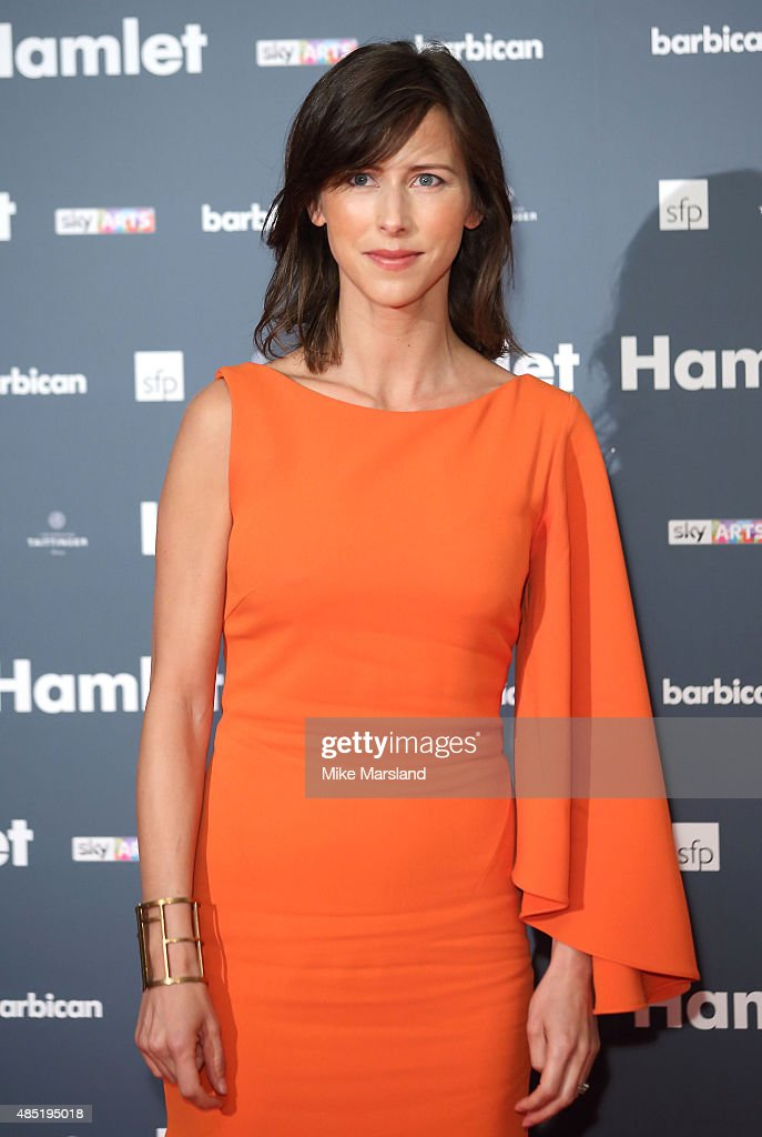 Sophie Hunter attends the press night of 'Hamlet' at Barbican Centre on August 25, 2015 in London, England.