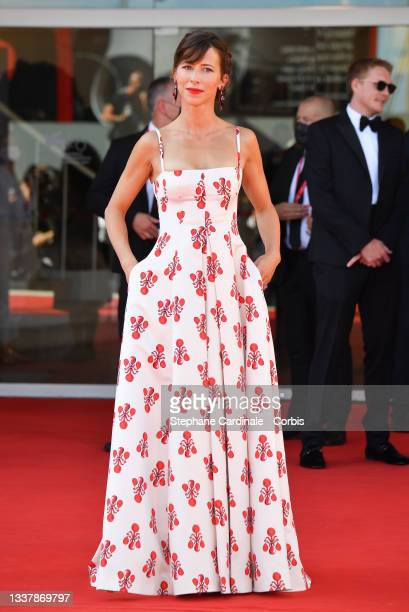 """Sophie Hunter attends the red carpet of the movie """"The Power Of The Dog"""" during the 78th Venice International Film Festival on September 02, 2021 in..."""