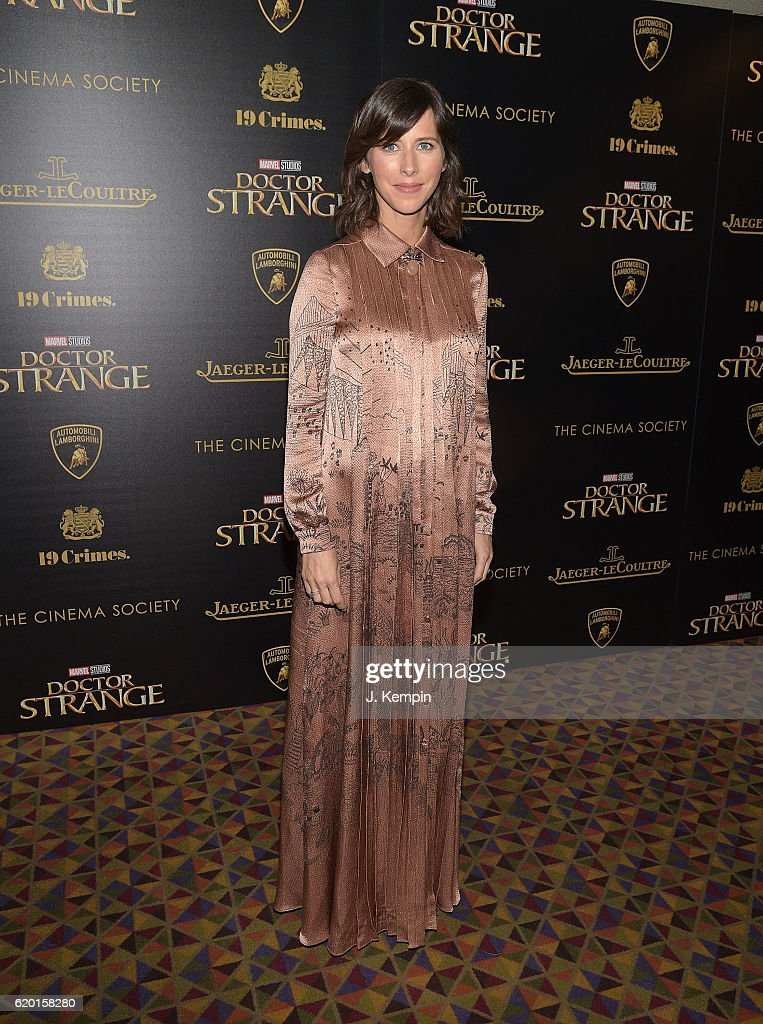 Sophie Hunter attends the Screening of Marvel Studios' 'Doctor Strange' hosted by Lamborghini with the Cinema Society, Jaeger-LeCoultre and 19 Crime Wines at AMC Empire on November 1, 2016 in New York City.