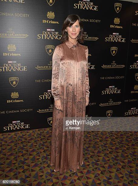Sophie Hunter attends the Screening of Marvel Studios' Doctor Strange hosted by Lamborghini with the Cinema Society JaegerLeCoultre and 19 Crime...