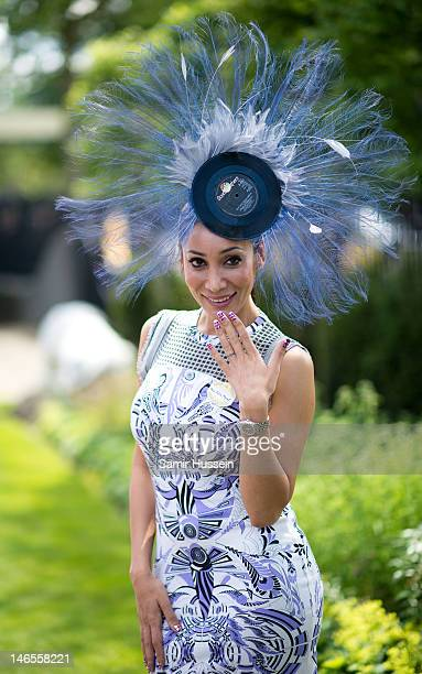 Sophie Hyatt attends day 1 of Royal Ascot 2012 at Ascot Racecourse on June 19 2012 in Ascot United Kingdom
