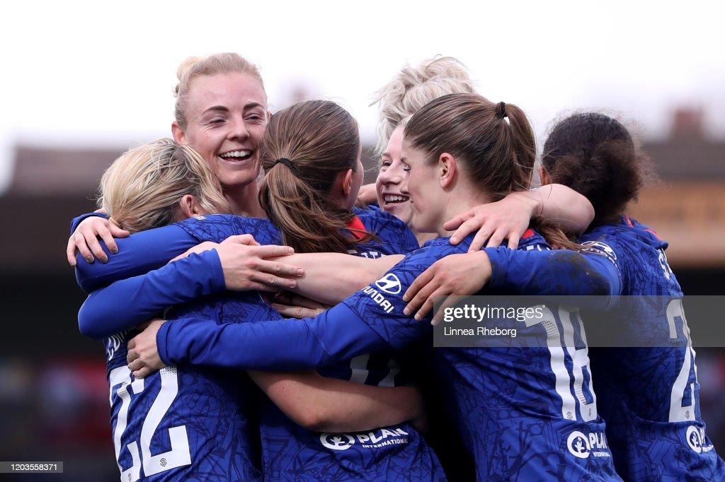 Chelsea v West Ham United - Barclays FA Women's Super League : News Photo