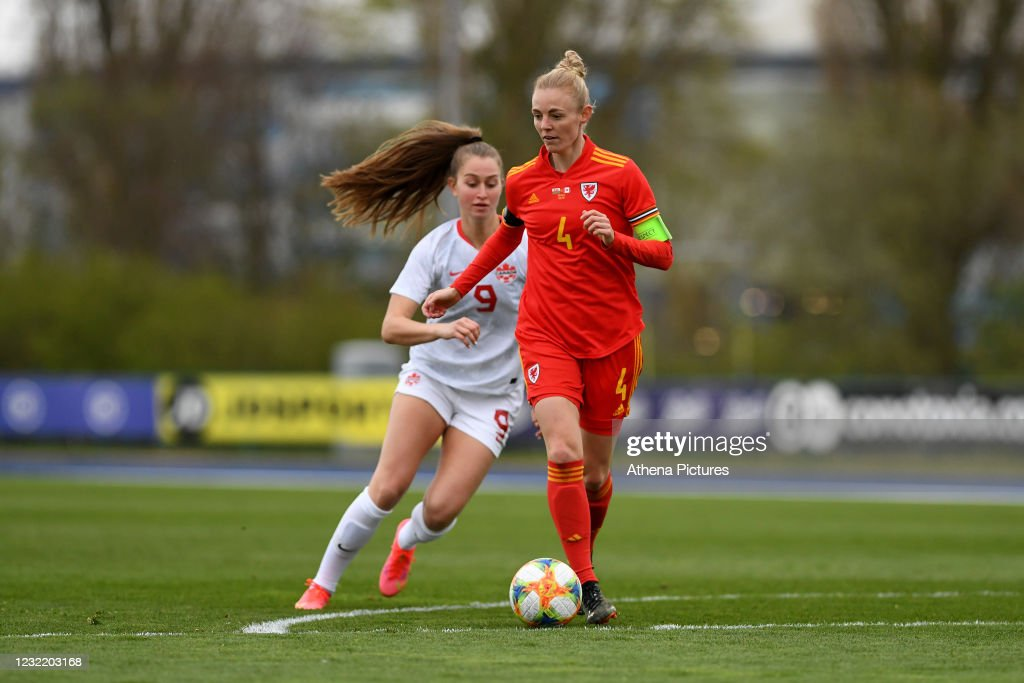 Wales v Canada - Women's International Friendly : News Photo