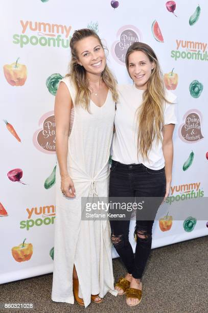 Sophie Jaffe and Kelly Kasiske attend First Foods 101/Yummy Spoonfuls at Pump Station Nurtury on October 11 2017 in Los Angeles California