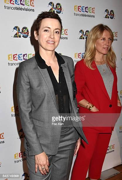 Sophie Jovillard attends France Television presents its programs 20162017 at France Television studios on June 29 2016 in Paris France