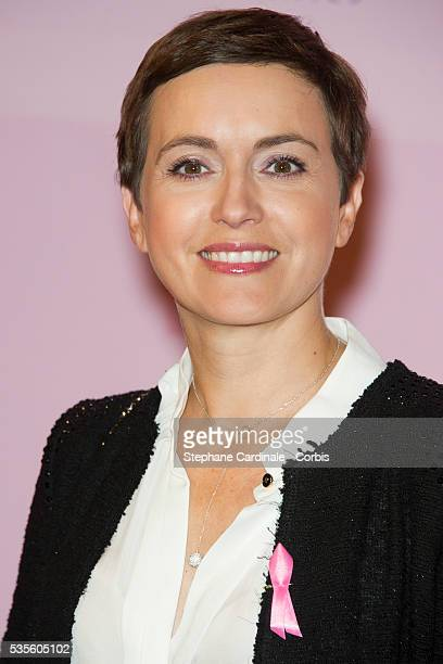 Sophie Jovillard attends the 20 Ans Du Ruban Rose event organized by Estee Lauder during Breast Cancer Awareness Month in Paris