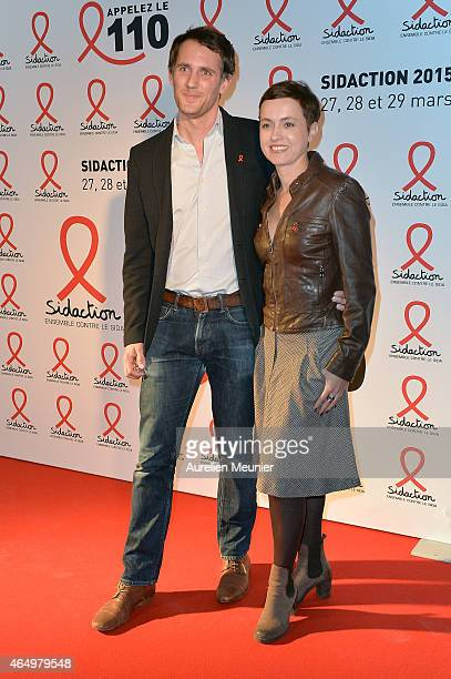 Sophie Jovillard attends the Sidaction 2015 at Musee du Quai Branly on March 2 2015 in Paris France