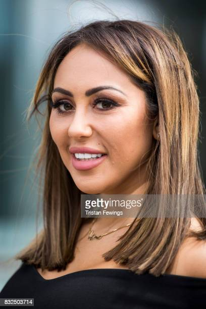 Sophie Kasaei attends the Geordie Shore Land of Hope and Geordie photocall to celebrate the launch of series 15 on August 16 2017 in London England