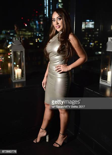 Sophie Kasaei attends the It Girls and MTV EMA Correspondents Dinner held at The Ace Hotel ahead of the MTV EMAs 2017 on November 10 2017 in London...