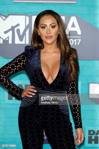 Sophie Kasaei attends the MTV EMAs 2017 held at The SSE Arena Wembley on November 12 2017 in London England