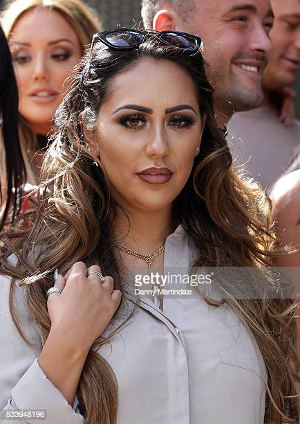 Sophie Kasaei of Geordie Shore arrive to celebrate their fifth birthday at MTV London on May 24 2016 in London England