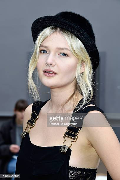 Sophie Kennedy Clark attends the Chloe show as part of the Paris Fashion Week Womenswear Fall/Winter 2016/2017 on March 3 2016 in Paris France
