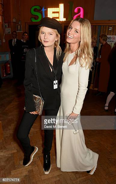 Sophie KennedyClarke and Annabelle Wallis attend the Stella McCartney Menswear Launch and Women's Spring 2017 Collection Presentation at Abbey Road...
