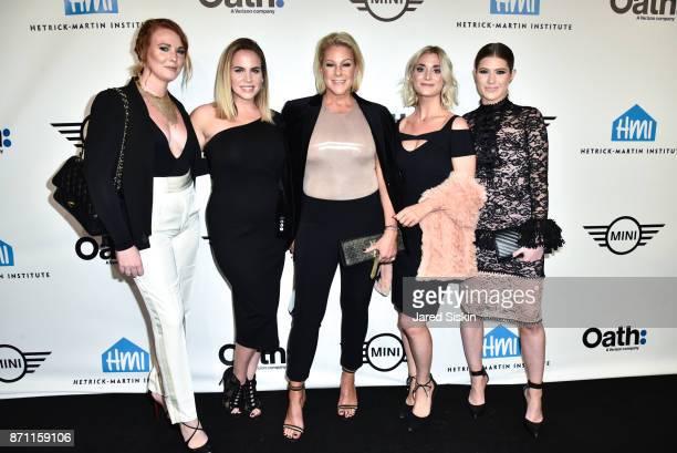 "Sophie Lake, Annabel Weyland-Norman, Lisa Marie Ringus, Amanda O' Sullivan and guest attend Hetrick-Martin Institute's 2017 ""Pride Is"" Emery Awards..."