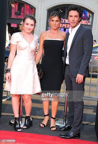 Sophie Levy Serena Levy and director/producer Shawn Levy arrive at the Los Angeles Premiere 'This Is Where I Leave You' at TCL Chinese Theatre on...