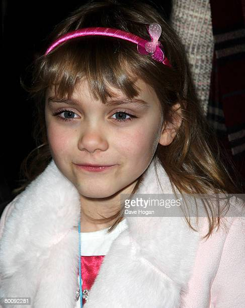 Sophie Mae daughter of David Jason arrives at the world premiere of 'The Colour Of Magic' at the Curzon Mayfair on March 3 2008 in London England The...