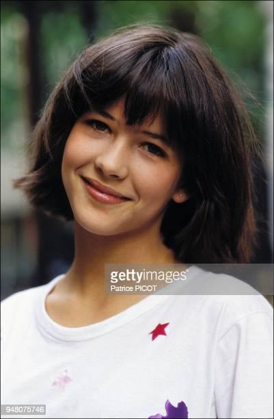 Sophie Marceau after the shooting of La boum 1980