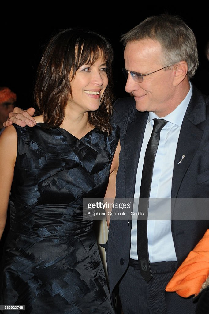 Sophie Marceau and Christophe Lambert attend The Dior Party during the Marrakech 10th Film Festival.