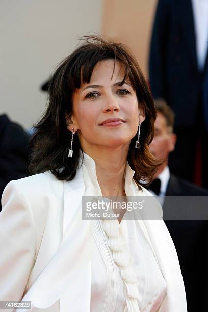 Sophie Marceau arrives at the screening of David Fincher's movie ''Zodiac'' on May 17 2007 in Cannes France