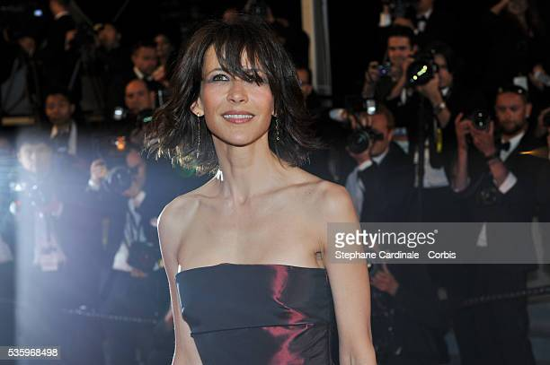 Sophie Marceau at the 'Lost River' premiere during the 67th Annual Cannes Film Festival