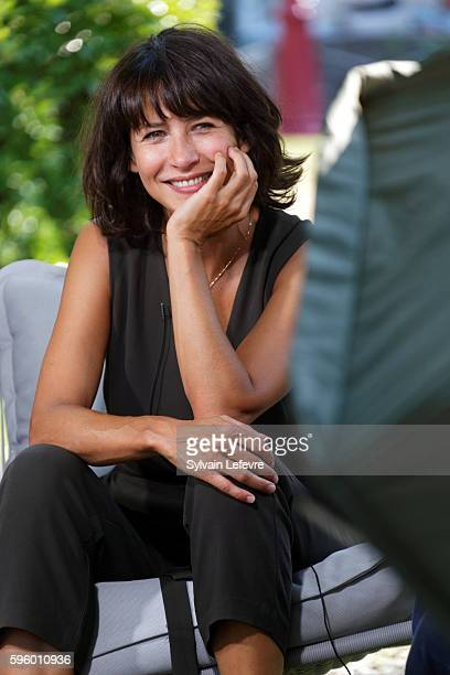 Sophie Marceau attends 9th Angouleme French-Speaking Film Festival on August 26, 2016 in Angouleme, France.