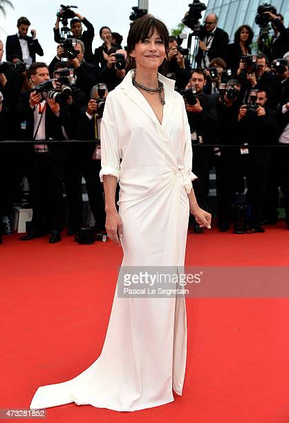 Sophie Marceau attends Premiere of 'Mad Max Fury Road' during the 68th annual Cannes Film Festival on May 14 2015 in Cannes France