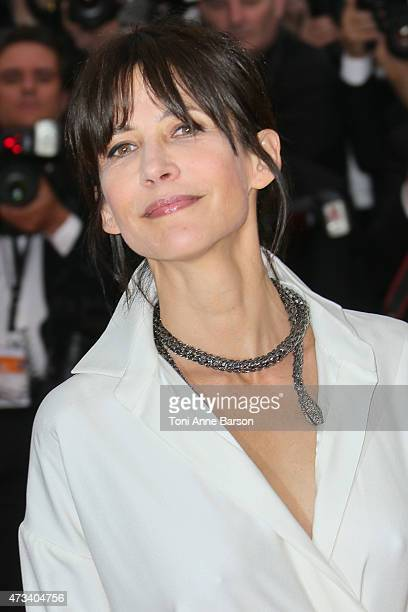 Sophie Marceau attends the 'Mad Max Fury Road' premiere during the 68th annual Cannes Film Festival on May 14 2015 in Cannes France