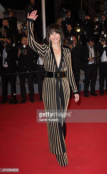 Sophie Marceau attends the 'Nie Yinniang' Premiere during the 68th annual Cannes Film Festival on May 21 2015 in Cannes France