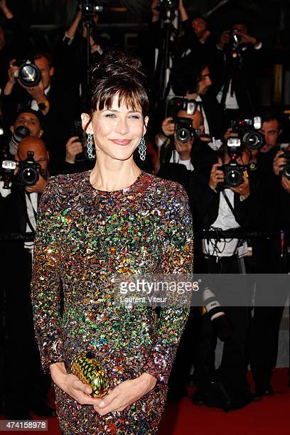 Sophie Marceau attends the Shan He Gu Ren premiere during the 68th annual Cannes Film Festival on May 20 2015 in Cannes France