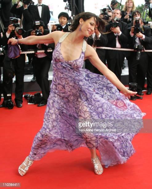 Sophie Marceau during 2006 Cannes Film Festival 'Selon Charlie' Premiere at Palais du Festival in Cannes France
