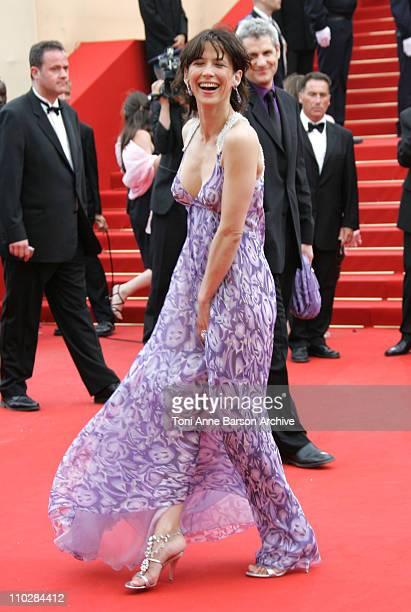 Sophie Marceau during 2006 Cannes Film Festival Selon Charlie Premiere at Palais du Festival in Cannes France
