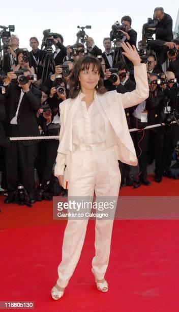 Sophie Marceau during 2007 Cannes Film Festival 'Zodiac' Premiere at Palais des Festivals in Cannes France