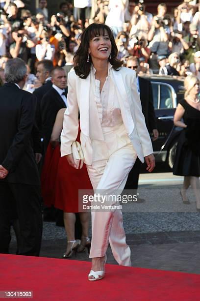 Sophie Marceau during 2007 Cannes Film Festival 'Zodiac' Premiere at Palais de Festival in Cannes France