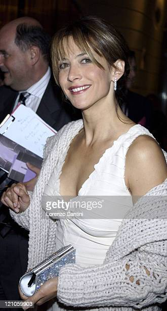 Sophie Marceau during Hotel Fouquet's Barriere Opening Party in Paris Arrivals at Hotel Fouquet in Paris France