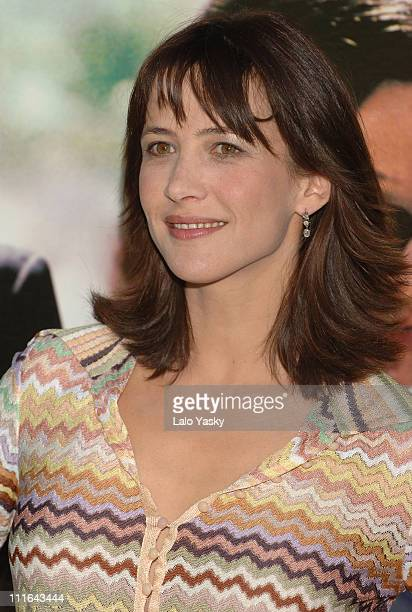 Sophie Marceau during Sophie Marceau Attends Photocall for 'Anthony Zimmer's Secret' at Ritz Hotel in Madrid Spain