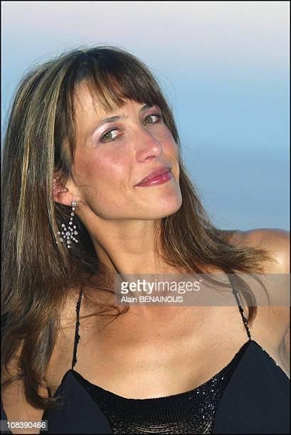 Sophie Marceau guest of honor In Monaco on August 02 2003