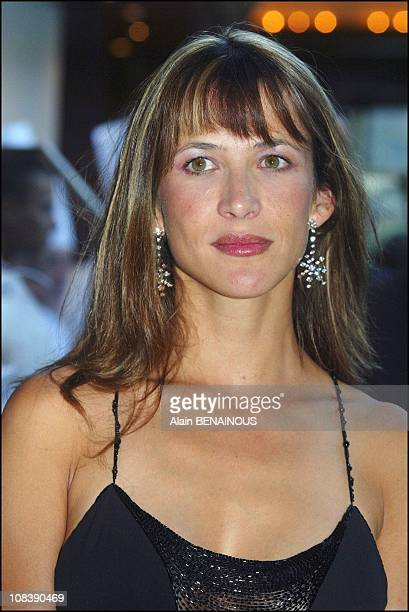 Sophie Marceau guest of honor In Monaco on August 02 2003