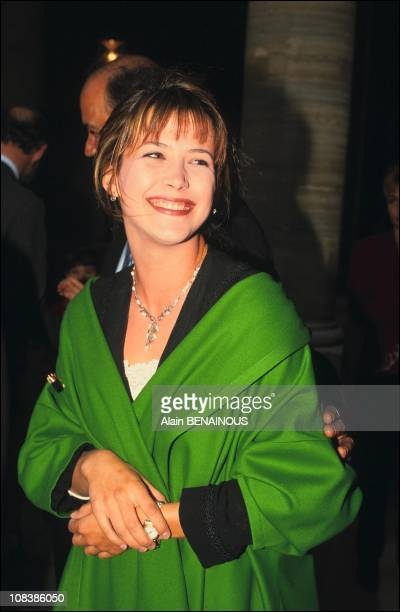 Sophie marceau in Paris France on June 27 1991