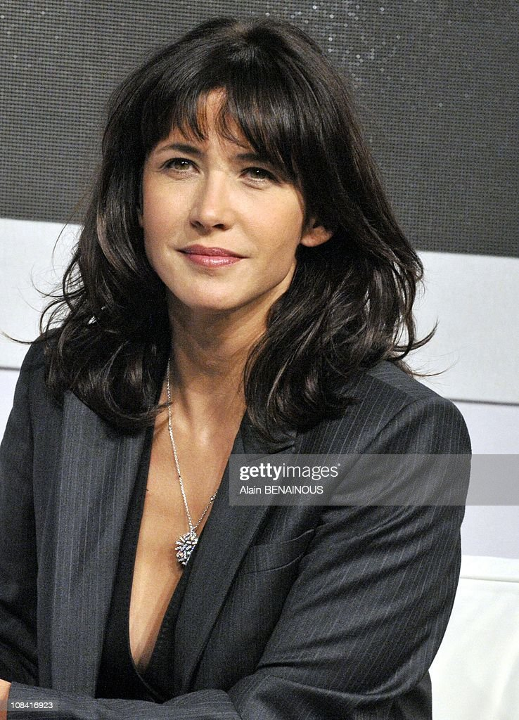 Sophie Marceau, new ambassador of French jeweller Chaumet in Paris, France on October 02nd, 2008 : News Photo