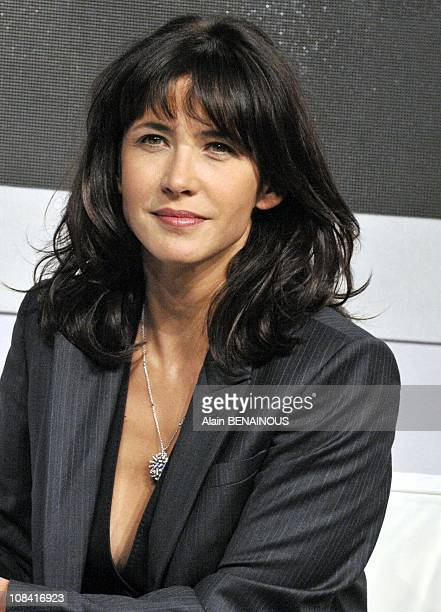 Sophie Marceau in Paris France on October 02nd 2008