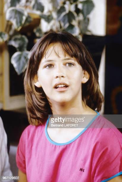Sophie Marceau tourne 'La Boum II' en juillet 1982 France