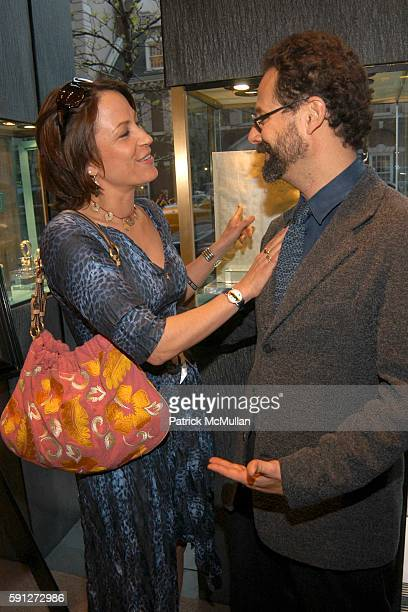 Sophie Matisse and Adam Weinberg attend Madison Avenue Where Fashion Meets Art at David Yurman on April 28 2005 in New York City