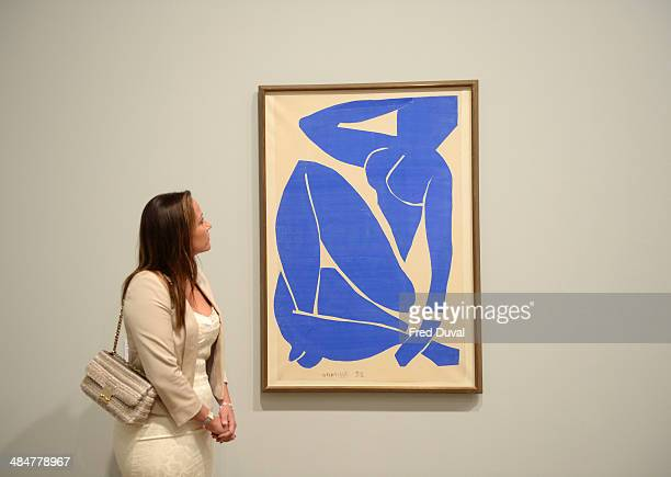 Sophie Matisse attends the Press Preview for the exhibition Henri Matisse the cutouts at Tate Modern on April 14 2014 in London England