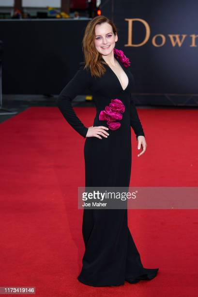 "Sophie McShera attends the ""Downton Abbey"" World Premiere at Cineworld Leicester Square on September 09, 2019 in London, England."