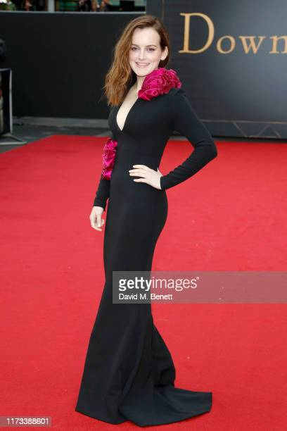 """Sophie McShera attends the World Premiere of """"Downton Abbey"""" at Cineworld Leicester Square on September 09, 2019 in London, England."""